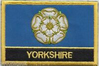 Yorkshire County Flag Embroidered Patch Badge - Sew or Iron on