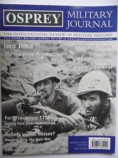 OSPREY MILITARY JOURNAL VOL 3-ISSUE 2 INTERNATIONAL REVIEW OF MILITARY HISTORY