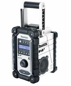 Makita DMR110W DAB/DAB+ 7.2v-18v White Jobsite Radio