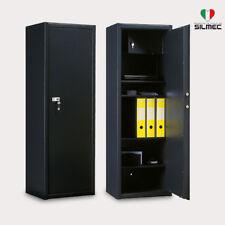 Armadio Blindato 4 Ripiani Portavalori Documenti Ufficio Cassaforte Silmec A108