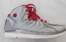 ADIDAS Derrick D Rose mens 7.5 silver white red basketball shoes metallic FAB