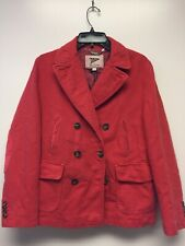 NWT Gant Michael Bastian Overdye Red Pink Cotton Peacoat S