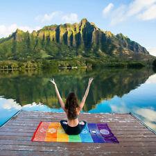 Regenbogen Turnmatte Yogamatte Gymnastikmatte Fitnessmatte Strand Schal Decke
