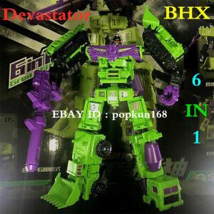 New BHX Devastator Engineering Truck Robot Combiner Action Figure Toys In Stock