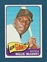 1965 Topps #176 Willie McCovey - San Francisco Giants - HOF - EX