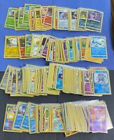 Pokemon LOT 100 CARD Common Uncommon RARE GUARANTEED (10) HOLO CARDS (1) V CARD