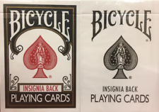 Bicycle Insignia Playing Cards 2 Deck Set Rare Limited Magic Poker Gaff ...!