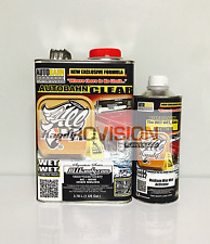 WET WET ALL KANDY HIGH SOLID CLEARCOAT (GALLON KIT WITH QUART ACTIVATOR)