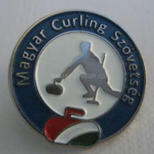 2014 Hungary Curling Federation Pin