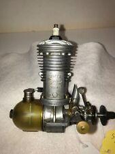 """Vintage 1940 Super Cyclone""""G""""  Model Airplane Engine S/N 1171"""