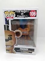 Funko pop vinyl - Freddy (Flocked) - 106 - Five Nights at Freddy's