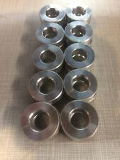 20pcs 3/4 OD x3/8 ID x1/4 long aluminum spacer bushing bung