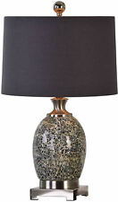 Madon Crackled Glass Table Lamp by Uttermost #27161-1