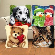 New listing Latch Hook Kit Cushion Diy Craft Needle Segment Pillow Embroidery Cross StitchUs