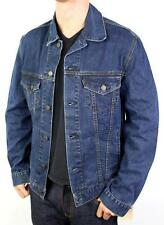NEW LEVI'S MEN'S CLASSIC COTTON BUTTON UP BLUE JEANS JACKET 707970023 SIZE L