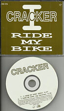 CRACKER I Ride My bike w/ RARE RADIO EDIT PROMO DJ CD single 1992