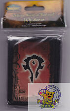 75 World of Warcraft Deck Protector card sleeves Horde for WoW tcg cards