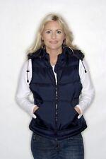 B&C Ladies Zen Windbreaker Womens Hooded Bodywarmer Gilet - 3 Colours Sizes 8-18 Navy Blue XXL - Size 18