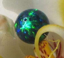 wunderschöne labor opal perle 6 mm aus japan