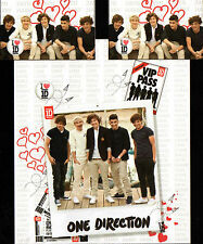 ONE DIRECTION 1D VIP PASS LOVE HEARTS QUILT COVER SET DOUBLE NEW