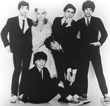 Blondie Band Shot Parallel Lines B/W 8x10 Glossy Photo