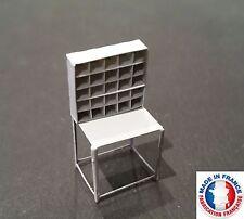 TRI01-HO-Lot de 6 casiers de tri postal