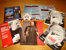LOUIE 6 Emmy ads with Louis C.K. for Outstanding Comedy Series and Actor