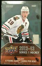 Upper Deck 2012-13 Factory Sealed Series 1 Hockey Hobby box