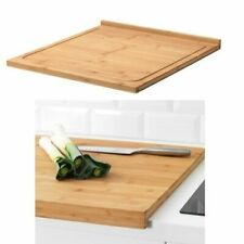 IKEA LÄMPLIG Wooden Large Cutting Chopping Serving Board Use Both Sides-Two Size