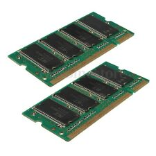 Memoria ram 1GB (2x512MB) DDR-333 333Mhz PC2700 (SODIMM) 200-pin Laptop Notebook