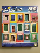 Colorful Doors 500 Piece Jigsaw Puzzle by Puzzlebug