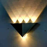 Modern 5W LED Wall Lights Up Down Lamp Sconce Night Light Home Bedroom Fixture