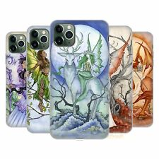 Official Amy Brown Elemental Fairies Soft Gel Case For Apple iPhone Phones