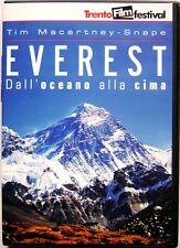 Dvd Everest - Dall'oceano alla cima + Booklet di Michael Dillon 1990 Usato