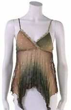 New Woman's Juniors Burnout Sheer Sleeveless Summer Tank Top