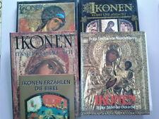 Büchersammlung zu Ikonen großformatige Bildbände, 5 verschiedene !