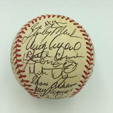 1997 Vladimir Guerrero Rookie Montreal Expos Team Signed Baseball PSA DNA COA