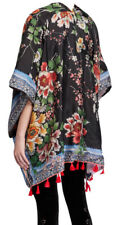 Johnny Was Silk Print Reversible Kimono, 2X, NW T