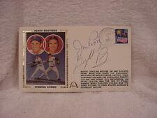 VERY RARE Gaylord & Jim Perry Dual Autographed Brothers Most Wins Cache, MINT!!