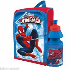 Spider-Man Plastic Lunch Bags for Children