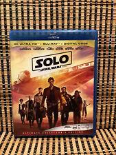 Star Wars: Solo (1-Disc Blu-ray,2018)Disney/Han/Ron Howard/Millennium Falcon