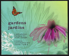 Canada Stamps - Booklet Pane of 8 - Gardens / Jardins #2145 (BK322) - MNH