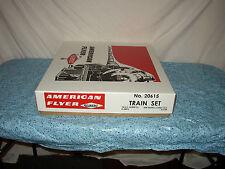 AMERICAN FLYER TRAIN SET #20615 THUNDERBOLT IN REPRO BOX READY TO RUN  #Y-33