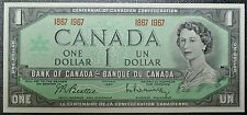 BANK OF CANADA 1867-1967 - $1 BANK NOTE - Only Non-serial Numbered Canada Note