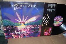 "Supertramp Paris 2 Lp's VG+ Vinyl ""Picture Sleeves"""