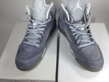 Nike Air Jordan V 5 Retro Size 13 Wolf Grey White 2010 (136027-005) Pre Owned 🔥