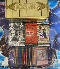 Yu-Gi-Oh Gold Sarcophagus Tin + 30 Holo / Rare Cards + Booster Pack + More!