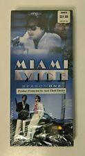 Miami Vice Season 1 DVD Long Box 2005 Sealed Rare