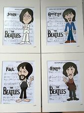 The Beatles - Late 1960's Collection - Hand Drawn & Hand Painted Cels