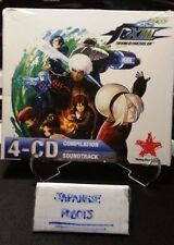 King of Fighters XIII 4 Cd Compilation Soundtrack Rising Star games new & sealed